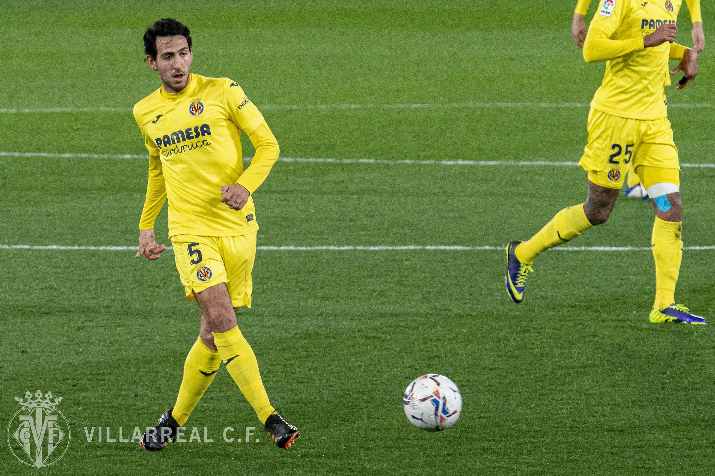 Daniel Parejo en un partido esta pasada campaña