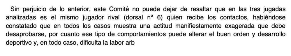 Resolución de Competición sobre la reclamación de la UD Almería