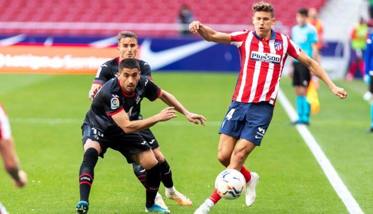 Marcos Llorente realizó un gran partido con doblete incluido