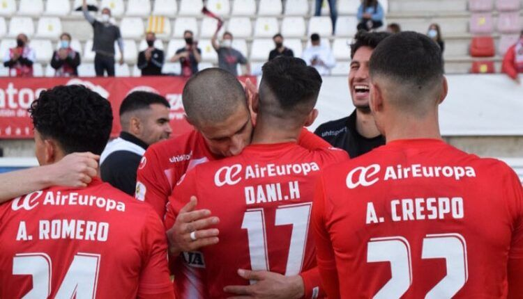 Jugadores del Zamora celebrando un gol