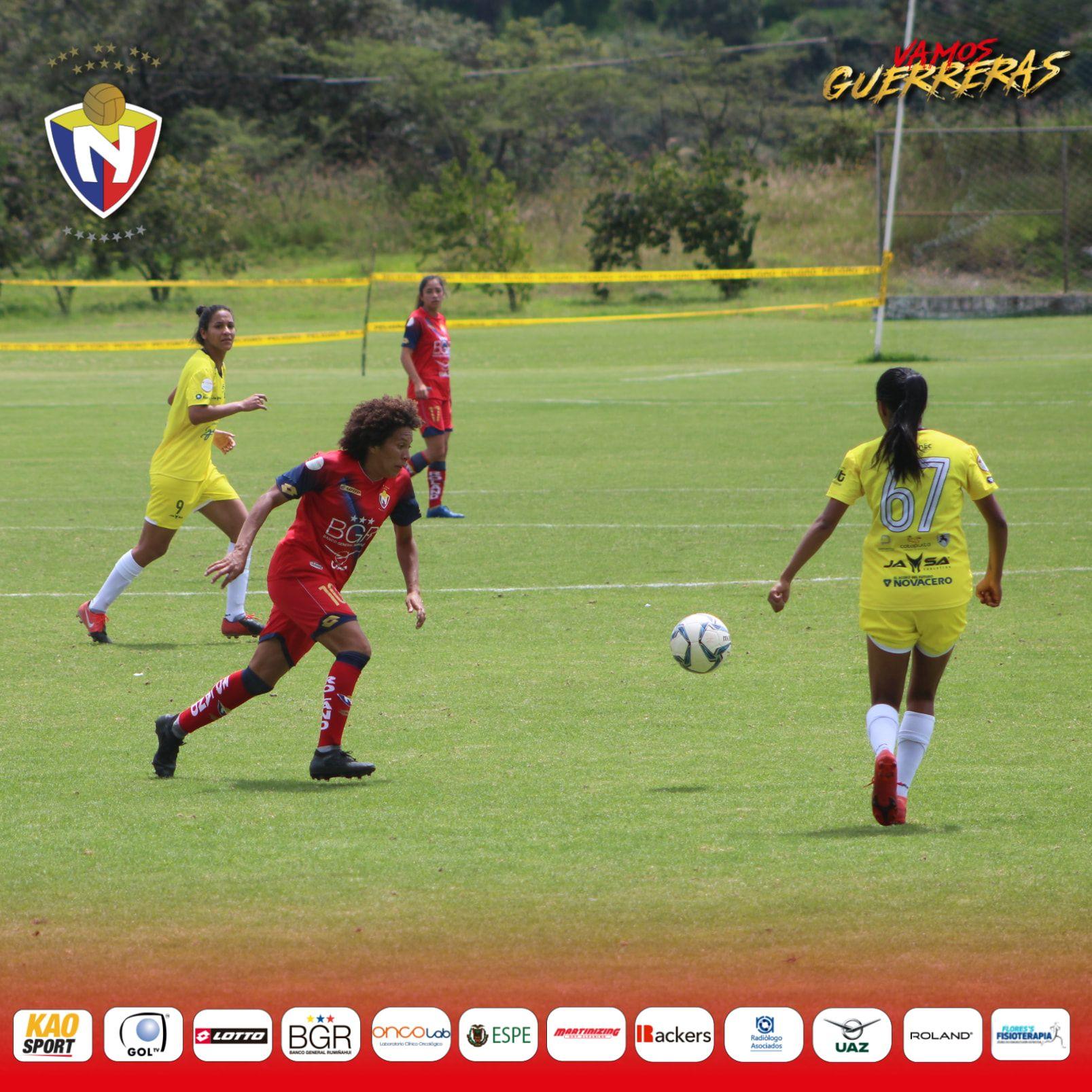El Nacional 2-3 ESPUCE