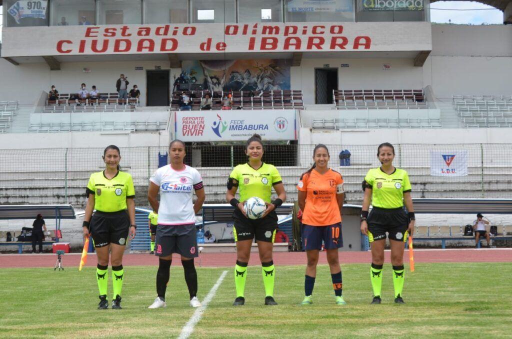 San Miguel de Ibarra 0-5 Guerreras Albas