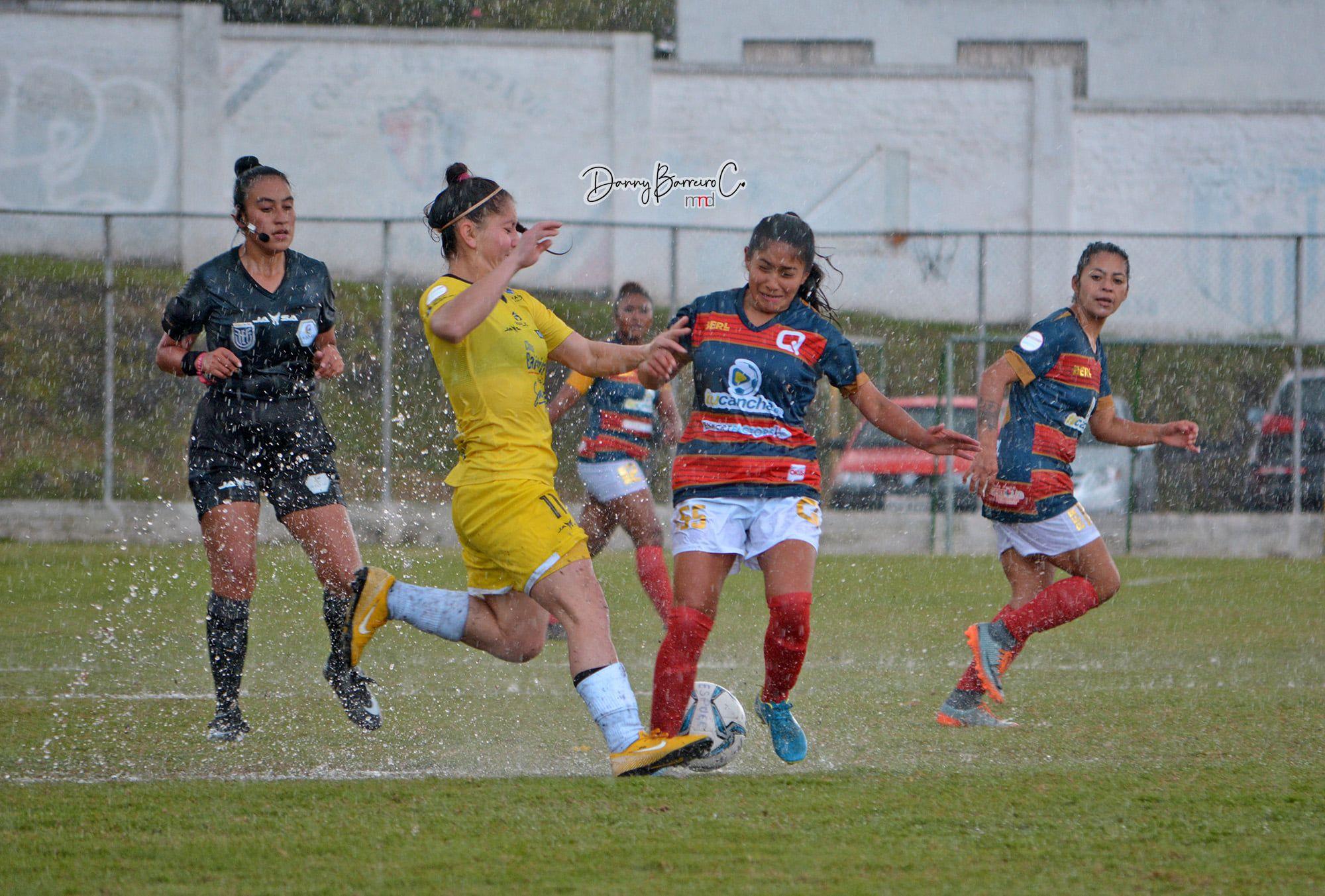ESPUCE 1-1 Quito FC
