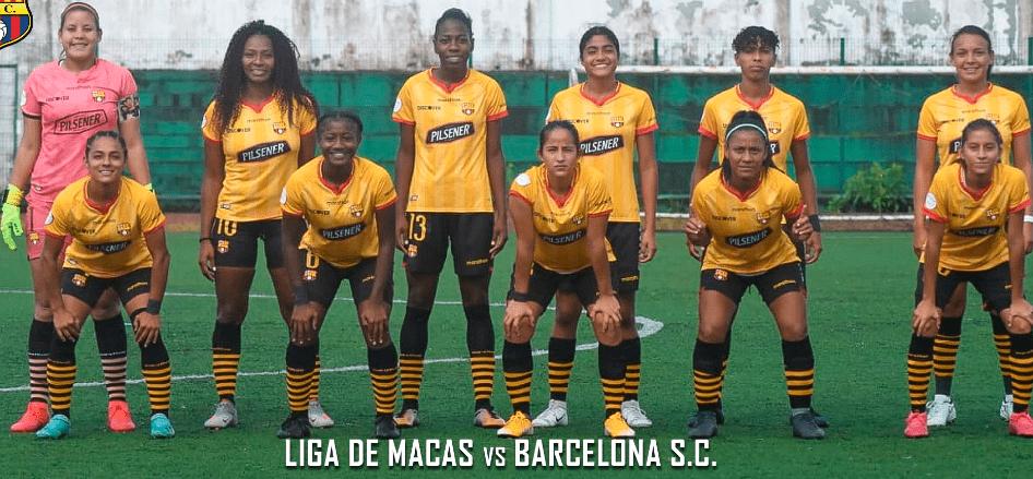 Liga de Macas 1-1 Barcelona