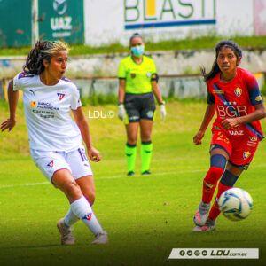 El Nacional 0-2 Guerreras Albas