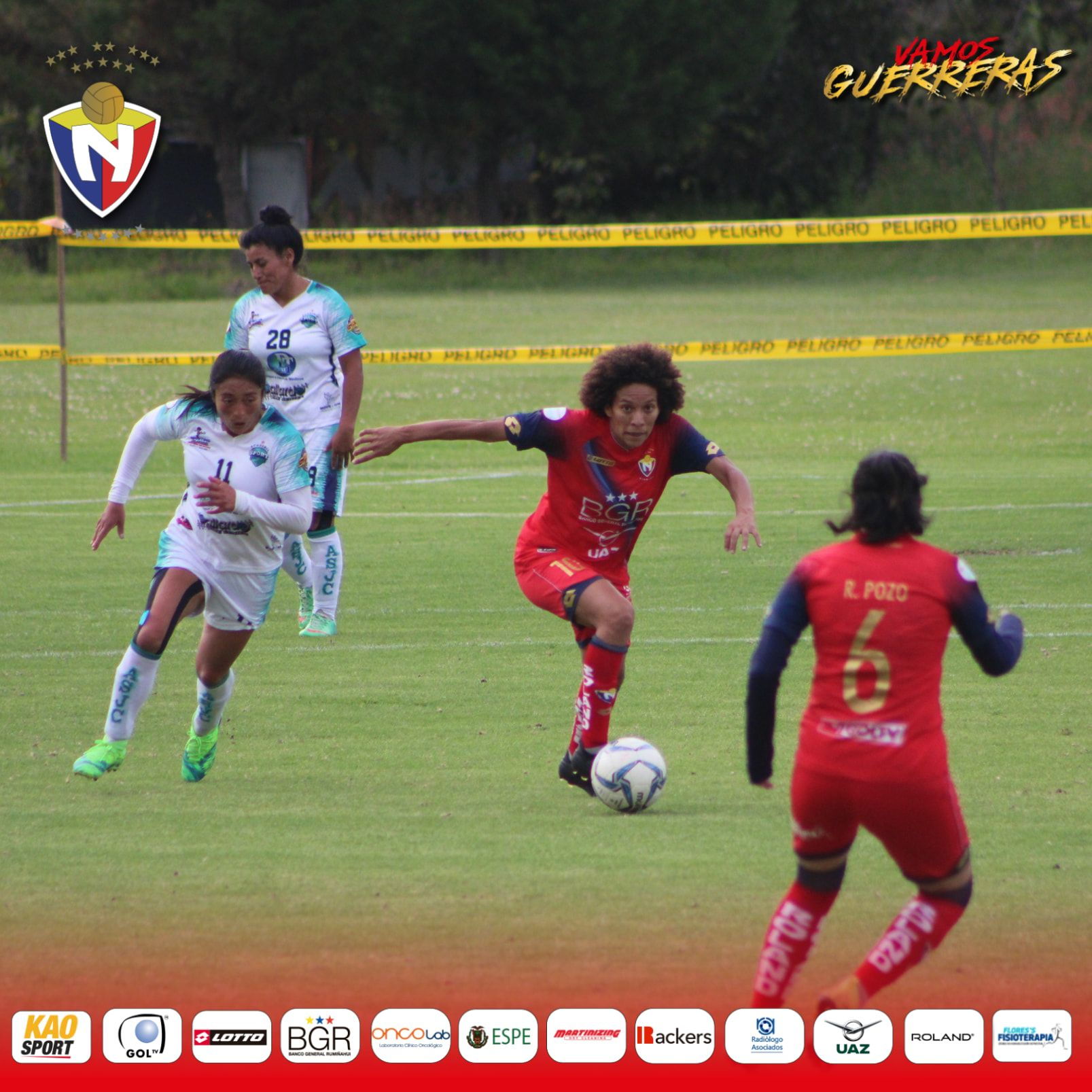 El Nacional 4-1 Academia Sport JC