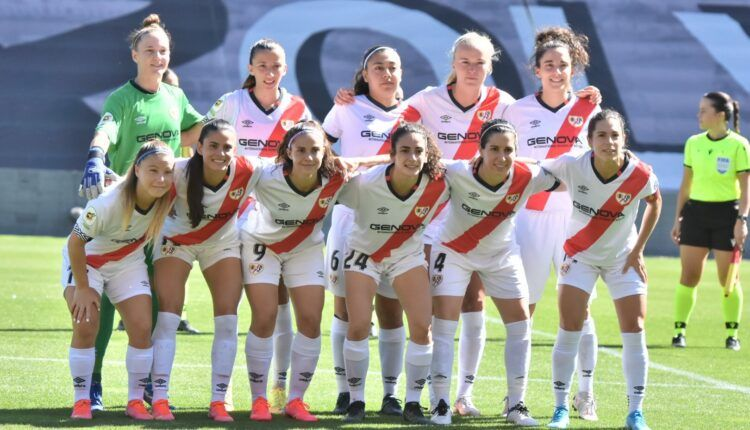 Once inicial del Rayo Féminas.
