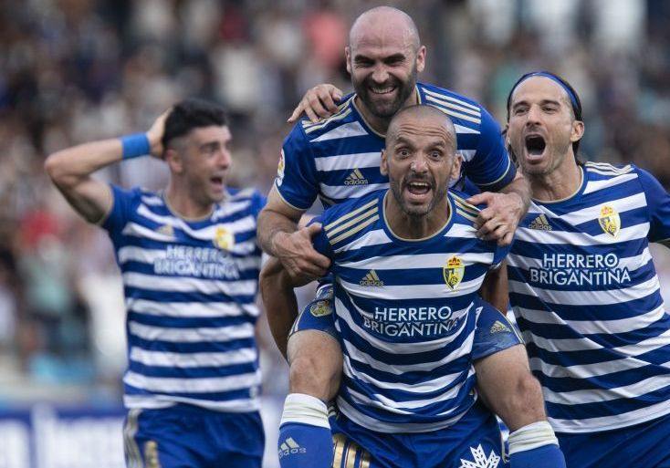 Ponferradina celebra gol