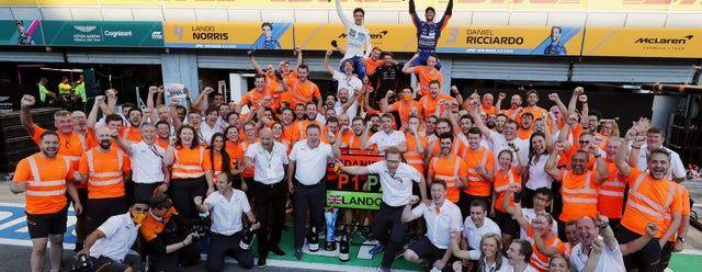 McLaren regresó a lo más alto en el templo de la velocidad